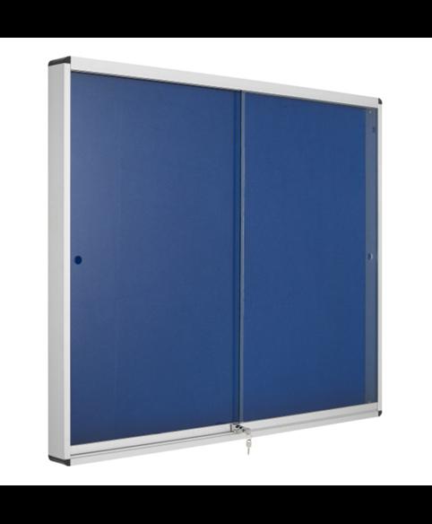 Image 1 of Lockable Boards - Exhibit Indoor Lockable Board Felt