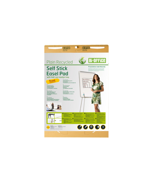 Image 1 of Flipchart Pads - EARTH Self-stick Flipchart Pad