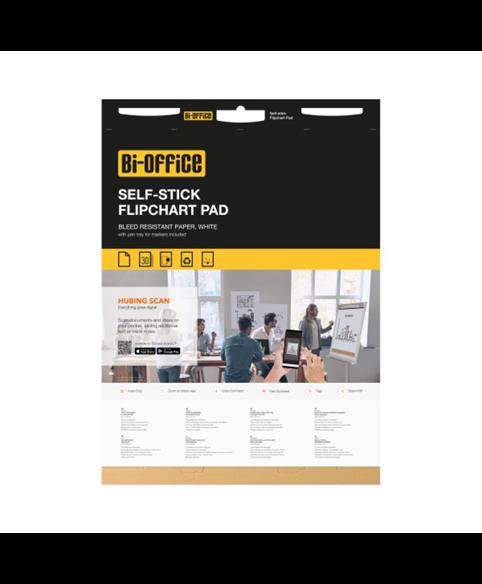 Image 1 of Flipchart Pads - Yellow Self-stick Flipchart Pad