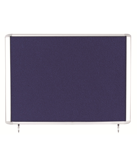 Image 1 of Lockable Boards - MasterVision Indoor Top Hinged Felt