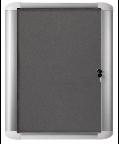 Image 1 of Lockable Boards - MasterVision Indoor Lockable Board Felt