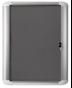Image 0 of Lockable Boards - MasterVision Indoor Lockable Board Felt