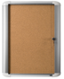 Image 1 of Lockable Boards - MasterVision Indoor Lockable Board