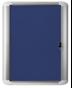 Image 2 of Lockable Boards - MasterVision Indoor Lockable Board Felt