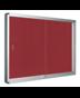 Image 3 of Lockable Boards - Exhibit Indoor Lockable Board Felt