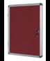 Image 3 of Lockable Boards - EARTH Enclore Lockable Board Felt