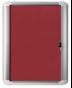 Image 4 of Lockable Boards - MasterVision Indoor Lockable Board Felt